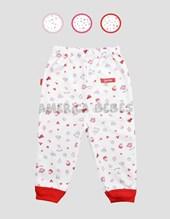 Pantalón bebé c/puños. Colores surtidos. Gamise.