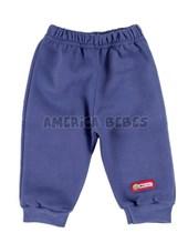 Pantalón con bolsillo, friza gamuzada.Colores surtidos. Premium Only Baby.