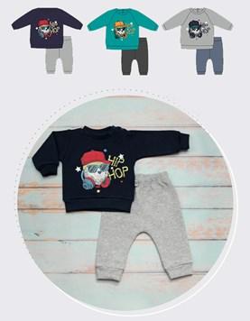 Conjunto de friza bebe buzo y pantalon Hip hop Yaby