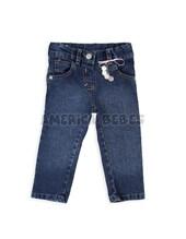 Pantalon jean elastizado nena con llavero moneditas. Chic-Chac