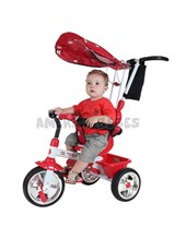 Triciclo MEGA 3 en 1. Color rojo. Biemme.