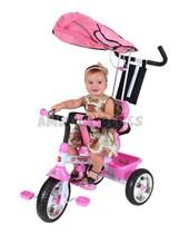 Triciclo MEGA 3 en 1 Color Rosa. Biemme.