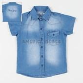 Camisa niño M/C Jean ney york en espalda. Popeye Kids.