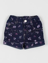 Short jeans BB floreado. Terra Nature.