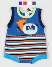 Body s/m Jersey Panda. Colores surtidos. Yaby.