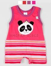 Enterito S/M Jersey Panda. Colores surtidos. Yaby.