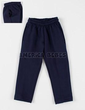 Pantalon achupinado frizado colegial. Zero.