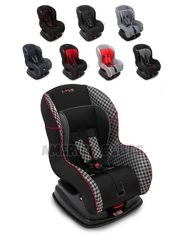 butaca de bebe para auto con base varios colores love