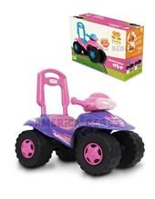 Cuatriciclo ATV Lila andarín y caminador construido en plástico resistente.+ 12 meses. Kuma Kids.