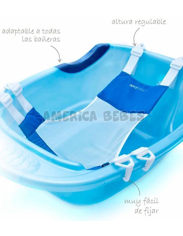 Red de baño para bañar al bebe de manera segura y comoda. COLORES: Verde-Celeste-Rosa. Baby Safe.