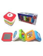 CUBO MUSICAL MAGICO. 7 juegos en 1. Musica y luces. Zippy toys.