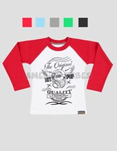 REMERA COMB. MANGA RAGLAN C/ ESTAMPA FASHION. COLORES SURTIDOS. BABY CHEITO.