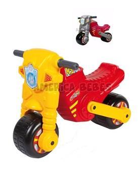 Moto F1 . Color Amarillo. Edad + 2 años.. Ruedas anchas para mayor estabilidad. Rondi.