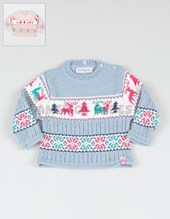 Sweater nena.Talle 12m/Talle 18/Talle 24/ Talle 36= t2 / T.48= t4 / T. 72 = t6 / T.96 = t8 Colores surtidos. Sweeper Sweaters.