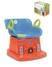 Pelela castillo magico.  Facil de limpiar + 12 meses  Asiento con respaldo. Color para nene. Kuma Kids.