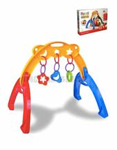 Baby Gym. Gimnasio para bebes formas, texturas y colores llamativos. Transportable. Medidas61x53x47 cm.  Rondi.