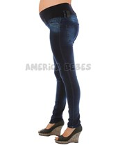 Pantalon jean super elastizado chupin. Que sera?