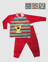 Conjunto plush Alex. Colores surtidos. Yaby.