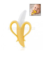 Mordillo Banana. 100% silicona. Nuby.