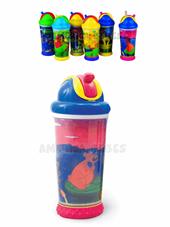 Vaso magico, termico, antiderrames con dibujos 3d -330 ml. Modelos surtidos. Nuby.
