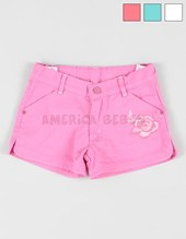 Short jr nena color c/bordado. Gepetto.