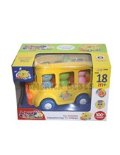 Auto bus didactico. Contiene luces y sonidos. + 18 m. Zippy Toys.