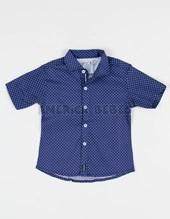 Camisa bebe lunar azul y blanca. Popeye Kids.