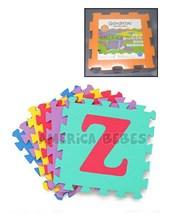 Piso de goma encastrable N-Z (10 piezas + 3 DE REGALO). Gorditoo.