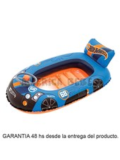BOTE  FLOTADOR  HOT WHEELS. BESTWAY.