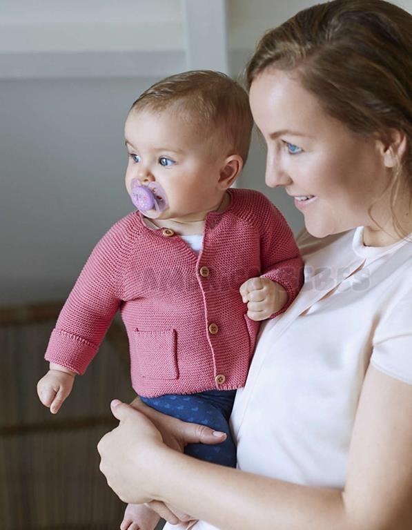 Chupetes nena Ultra suave y flexible 6-18 meses Ortodóntico y sin BPA 2 unidades.  Avent.
