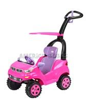 Auto push car girl adventure. Asiento reclinable, porta vaso y barral de empuje. Biemme.