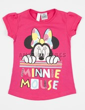 Remera beba estampada. Minnie. Disney Licencia.