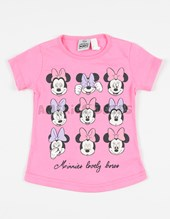 Remera M/C beba Minnie. Disney Licencia.