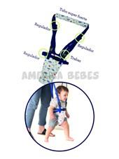 Arnes para aprender a caminar Evita caidas y accidentes, MOON WAK. 8-14 Meses, Hasta 15 g.