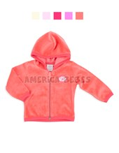 Campera mini bebe plush liso