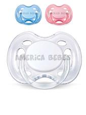 CHUP. FREEFLOW 0-6meses.  BPA FREE x2 UNI. Colores surtidos. Avent.