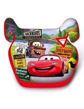 Booster Elevador Disney CARS. 4 a 12 años altura menor de 1,50 mts. 15kg  hasta 36 Kg.