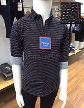 Camisa niños M/L elastizada con puntos y cinta. Popeye Kids.