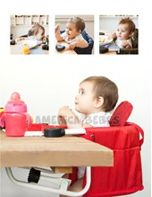 Silla aerea para comer ( se engancha a la mesa) Colores surtidos. Happy Little Moments.