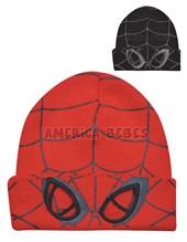 Gorro tejido con ojos calados. Spiderman. Colores surtidos. Disney Licencia.
