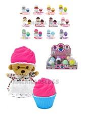 Cupcake Bears 2 en 1 con osito sorpresa en el interior. Shine.