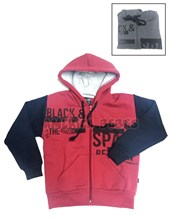 Campera nene 3 colores. Estampa Black Space. Colores surtidos. Compacto.
