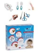 Set De Cuidados Bebe X8 Tijera Termometro Peine. Love