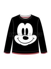 Remera Bebe M/L estampa Mickey. Disney Licencia.