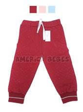 Pantalón c/puño tejido. Colores surtidos. Premium Only Baby.