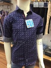Camisa niño  elastizada con cinta y combinacion. Colores surtidos. Popeye Kids.