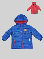 Campera bebe canelon. Interior polar. Colores surtidos. Keoma.