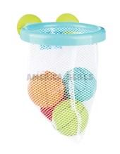 Aros de basquet bebes para bañera con pelotas y red. Edad: +12 meses. Zippy Toys.