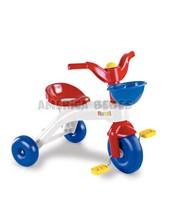 Triciclo Junior Rider. + 36meses. Pedales antideslizantes y canasto.Rondi.