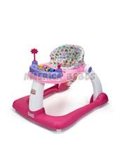 Andador 2 EN 1 Baby Steps NENA. + 6 meses. Andador y caminador. bandeja de actividades, asiento regulable y desmontable. Rondi.